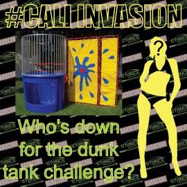 Cali Invasion Dunk Tank Models
